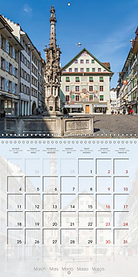 LUCERNE Lovely Switzerland (Wall Calendar 2019 300 × 300 mm Square) - Produktdetailbild 3