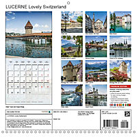 LUCERNE Lovely Switzerland (Wall Calendar 2019 300 × 300 mm Square) - Produktdetailbild 13