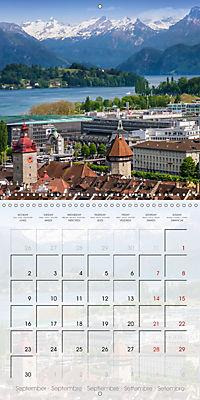 LUCERNE Lovely Switzerland (Wall Calendar 2019 300 × 300 mm Square) - Produktdetailbild 9