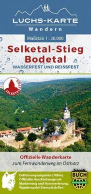 Luchs-Wanderkarte Selketal-Stieg und Bodetal