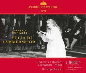 Lucia Di Lammermoor, Manuguerra, Gruberova, Patanè, Chor & Orch.d.WS