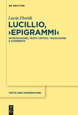 Lucillio, 'Epigrammi', Lucia Floridi