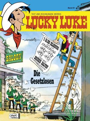 Lucky Luke Band 81: Die Gesetzlosen, Morris