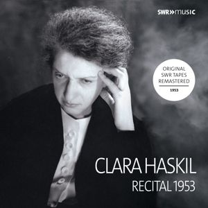 Ludwigsburg Recital 1953, Clara Haskil