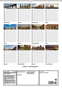 Lübeck - Familienplaner (Wandkalender 2019 DIN A2 hoch) - Produktdetailbild 1