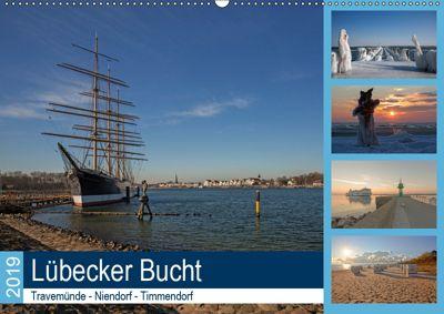 Lübecker Bucht - Travemünde - Niendorf - Timmendorf (Wandkalender 2019 DIN A2 quer), Andrea Potratz