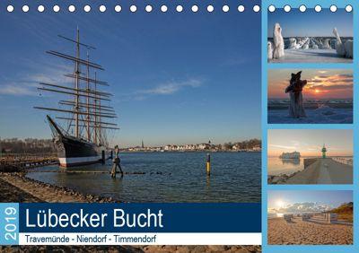 Lübecker Bucht - Travemünde - Niendorf - Timmendorf (Tischkalender 2019 DIN A5 quer), Andrea Potratz