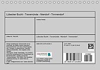 Lübecker Bucht - Travemünde - Niendorf - Timmendorf (Tischkalender 2019 DIN A5 quer) - Produktdetailbild 13