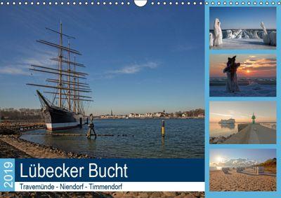 Lübecker Bucht - Travemünde - Niendorf - Timmendorf (Wandkalender 2019 DIN A3 quer), Andrea Potratz
