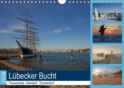 Lübecker Bucht - Travemünde - Niendorf - Timmendorf (Wandkalender 2019 DIN A4 quer), Andrea Potratz