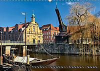 LÜNEBURG Ein- und Ausblicke von Andreas Voigt (Wandkalender 2019 DIN A2 quer) - Produktdetailbild 1