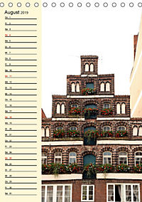 Lüneburg, schön zu jeder Jahreszeit (Tischkalender 2019 DIN A5 hoch) - Produktdetailbild 8