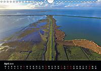 Luftaufnahmen - Faszinierendes Nordfriesland (Wandkalender 2019 DIN A4 quer) - Produktdetailbild 4