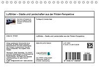 LuftBilder - Städte und Landschaften aus der Piloten-Perspektive (Tischkalender 2019 DIN A5 quer) - Produktdetailbild 7