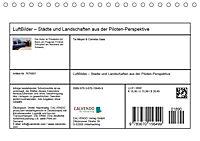 LuftBilder - Städte und Landschaften aus der Piloten-Perspektive (Tischkalender 2019 DIN A5 quer) - Produktdetailbild 13