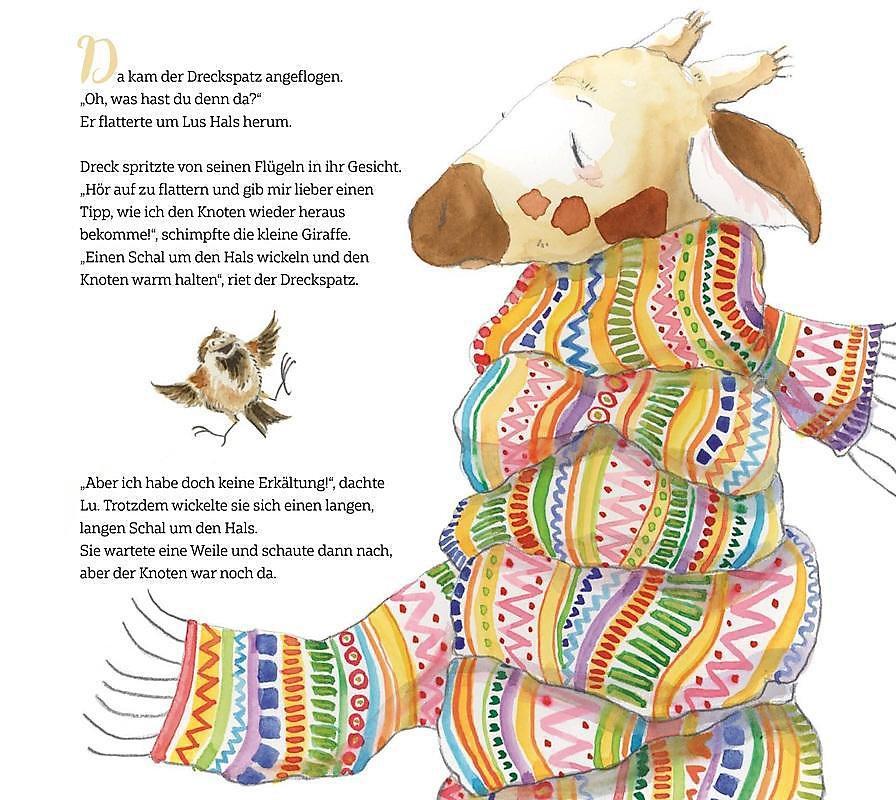 Lulatsch Die Kleine Giraffe Buch Versandkostenfrei Bei