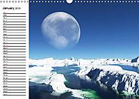 Luna 2 - fictional lunar landscapes (Wall Calendar 2019 DIN A3 Landscape) - Produktdetailbild 1