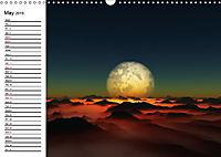 Luna 2 - fictional lunar landscapes (Wall Calendar 2019 DIN A3 Landscape) - Produktdetailbild 5