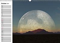 Luna 2 - fictional lunar landscapes (Wall Calendar 2019 DIN A3 Landscape) - Produktdetailbild 10