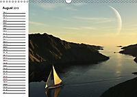 Luna 2 - fictional lunar landscapes (Wall Calendar 2019 DIN A3 Landscape) - Produktdetailbild 8