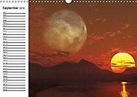 Luna 2 - fictional lunar landscapes (Wall Calendar 2019 DIN A3 Landscape) - Produktdetailbild 9