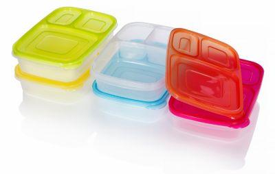 Lunchboxen, 5er-Set