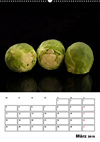 Lust auf junges Gemüse? (Wandkalender 2019 DIN A2 hoch) - Produktdetailbild 3