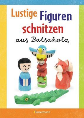Lustige Figuren schnitzen aus Balsaholz, Norbert Pautner