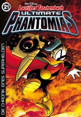 Lustiges Taschenbuch Ultimate Phantomias 21, Walt Disney