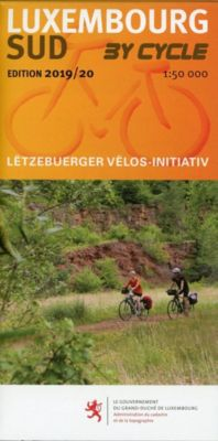 Luxembourg Nord, Sud - by Cycle 2019/20, 2 Karten -  pdf epub