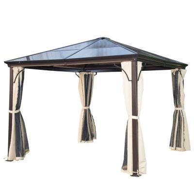 Luxus Pavillon mit lichtdurchlässigem Dach