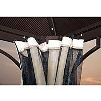 Luxus Pavillon mit lichtdurchlässigem Dach - Produktdetailbild 7