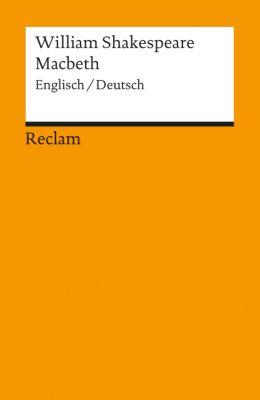 Macbeth, Englisch-Deutsch, William Shakespeare