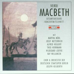 Macbeth (Ga), Chor & Orch.Der Deutschen Staatsoper Berlin