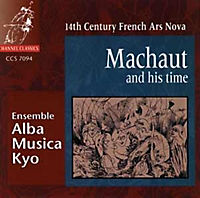Machaut And His Time: 14th Century Ars Nova - Produktdetailbild 1