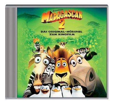 Madagascar 2, 1 Audio-CD, Madagascar