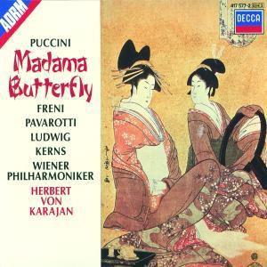 Madame Butterfly (Ga), Freni, Pavarotti, Karajan, Wp