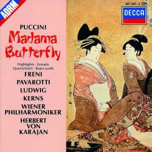 Madame Butterfly (Qs), Freni, Pavarotti, Karajan, Wp