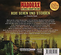 Maddrax - Rom sehen und sterben, 2 Audio-CDs - Produktdetailbild 1