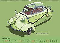 Made in Germany - Illustrationen deutscher Oldtimer (Wandkalender 2019 DIN A2 quer) - Produktdetailbild 2