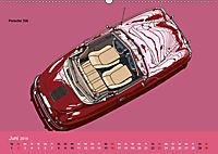 Made in Germany - Illustrationen deutscher Oldtimer (Wandkalender 2019 DIN A2 quer) - Produktdetailbild 6