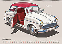 Made in Germany - Illustrationen deutscher Oldtimer (Wandkalender 2019 DIN A2 quer) - Produktdetailbild 10