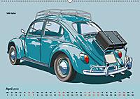 Made in Germany - Illustrationen deutscher Oldtimer (Wandkalender 2019 DIN A2 quer) - Produktdetailbild 4
