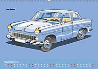Made in Germany - Illustrationen deutscher Oldtimer (Wandkalender 2019 DIN A2 quer) - Produktdetailbild 11