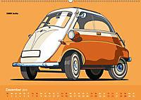 Made in Germany - Illustrationen deutscher Oldtimer (Wandkalender 2019 DIN A2 quer) - Produktdetailbild 12