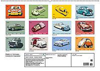 Made in Germany - Illustrationen deutscher Oldtimer (Wandkalender 2019 DIN A2 quer) - Produktdetailbild 13