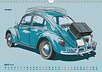 Made in Germany - Illustrationen deutscher Oldtimer (Wandkalender 2019 DIN A4 quer) - Produktdetailbild 4