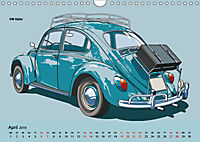 Made in Germany - Illustrationen deutscher Oldtimer (Wandkalender 2019 DIN A4 quer) - Produktdetailbild 4