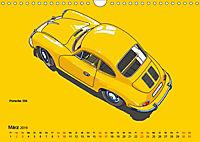 Made in Germany - Illustrationen deutscher Oldtimer (Wandkalender 2019 DIN A4 quer) - Produktdetailbild 3