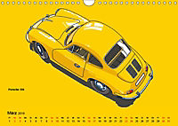 Made in Germany - Illustrationen deutscher Oldtimer (Wandkalender 2019 DIN A4 quer) - Produktdetailbild 3